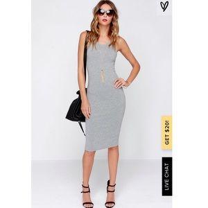 Cotton On Gray Maxi Dress